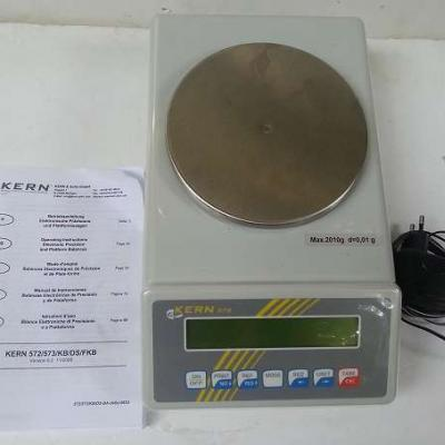 elektronische Präzisionswaage/Laborwaagen Kern 572 - thumb