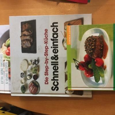 Kochbücher Vegetarisch und schnelle Küche - thumb