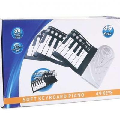49 Keys Flexible Soft Roll Keyboard,um 30€ - thumb