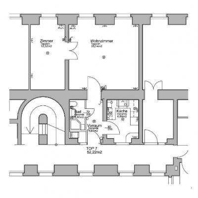 helle zentralgelegene 2-Zimmerwohnung - thumb