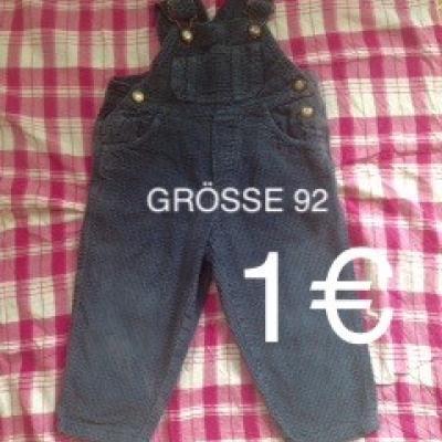 Cordlatzhose Grösse 92 1€ - thumb