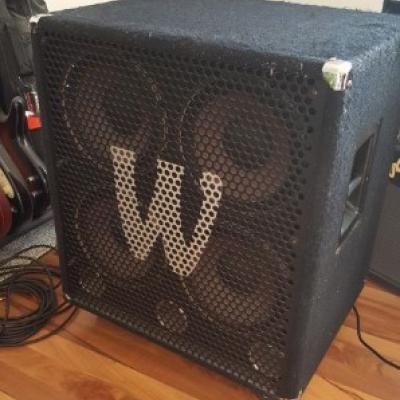 Bassanlage Warwick Profet 2 + WCA 410 Pro - thumb