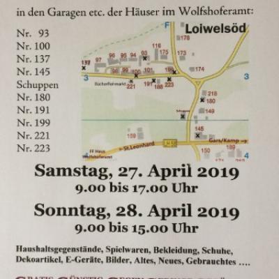 Großer Loiwelsöder Grätzlflohmarkt - thumb