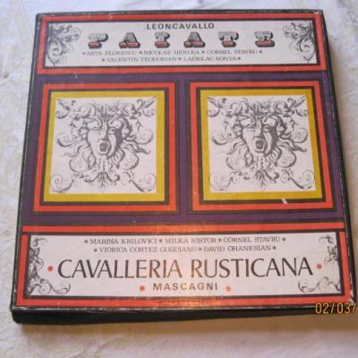 Langspielplatten, Album 3 LP Cavalleria Rusticana - thumb