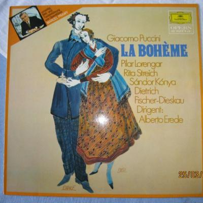 Langspielplatte Giacomo Puccini´s La Boheme - thumb