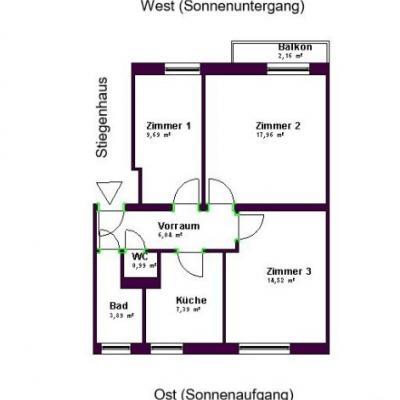9,5 m2 Zimmer im Grünen an der U4 - thumb