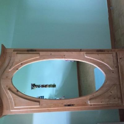 Spiegelschrank (Vollholz) - thumb