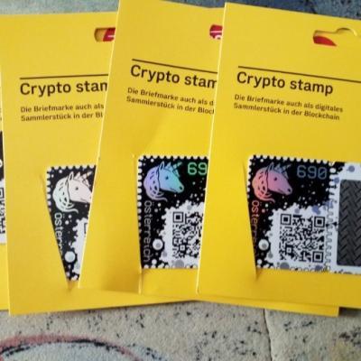 Verkaufe crypto stamp - thumb