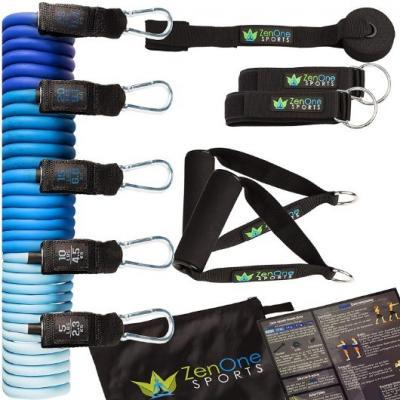 Workout Stretchbänder komplettes Set Schnäppchen - thumb