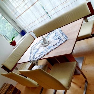Esstisch mit zwei Sesseln muss HEUTE raus - thumb