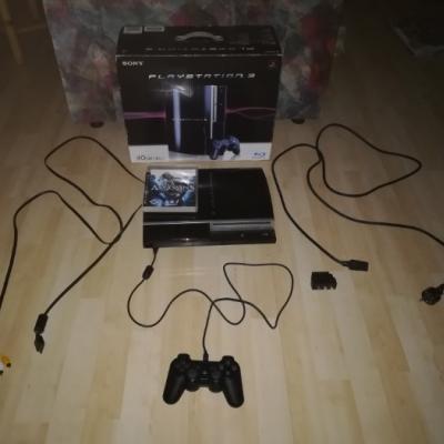 Playstation 3, kaum genutzt, neuwertig - thumb