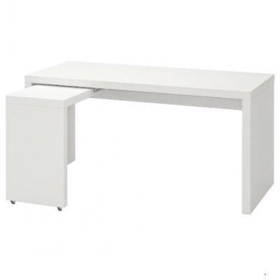 Malm Schreibtisch neuwertig - thumb