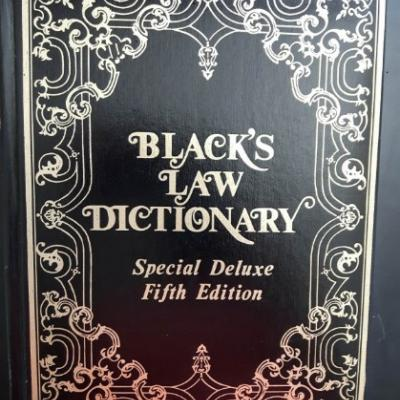 Black\'s Law Dictionary - Deluxe 5th Edition - thumb
