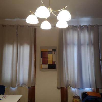 Blickdichte Vorhänge sowie Vorhangstangen um € 30 - thumb
