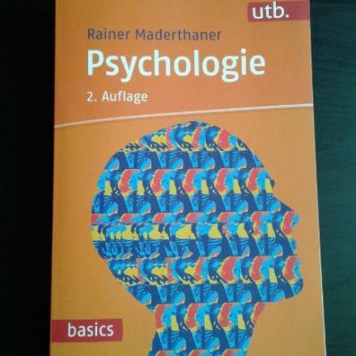 Psychologie, Rainer Maderthaner, 2. Auflage - thumb