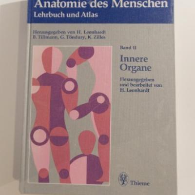 Rauber/Kopsch - Anatomie des Menschen - Band II - thumb