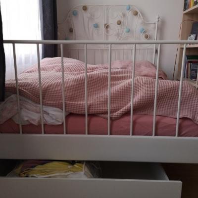 Bett inkl. Matratze und Lattenrost - thumb