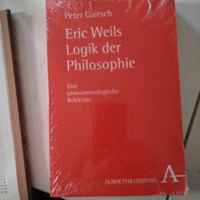 Eric Weils Logic der Philosophie, P. Gaitsch - thumb