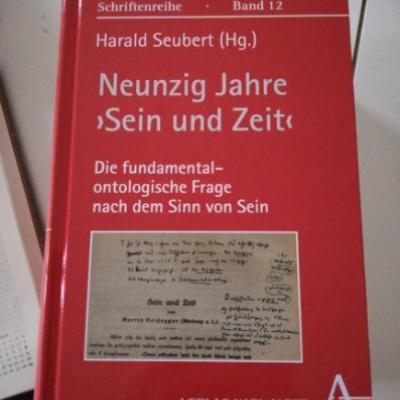 Neunzig Jahre \'Sein und Zeit\', H. Seubert (HG.) - thumb