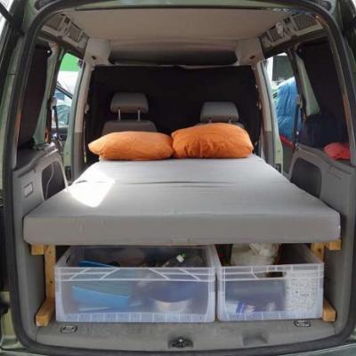 Verkaufe VW Caddy Life Camper Kombi/Family Van - thumb