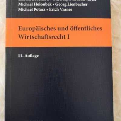 Europäisches und öffentliches Wirtschaftsrecht I - thumb
