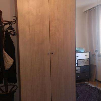 PAX Kleiderschrank 100x60x236cm eicheneff - thumb