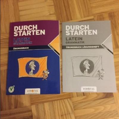 Durchstarten Latein Grammatik Übungsbuch/+Lösungen - thumb