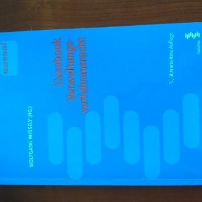 Casebook Verwaltungsverfahrensrecht - Wessely - thumb