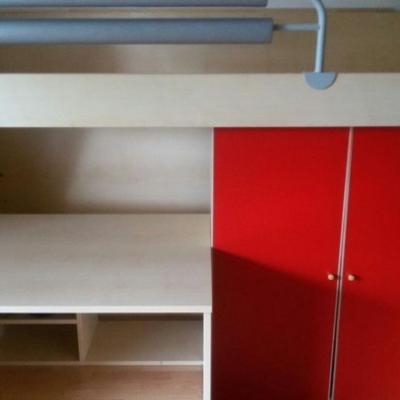 Platzsparendes Jugendzimmer für kleine Räume - thumb