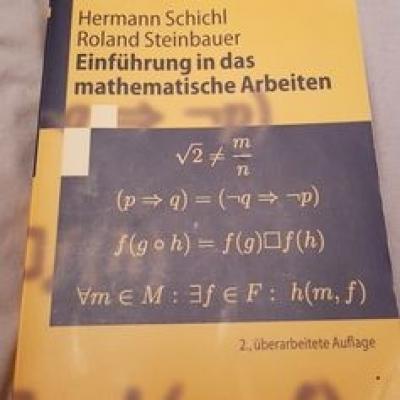 Einführung in das mathematische Arbeiten - Schichl - thumb