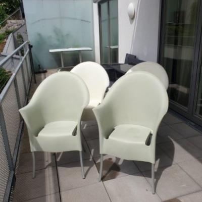 4 Gartenstühle zu verschenken - thumb