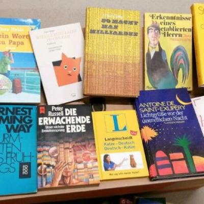 Bücherflohmarkt direkt aus dem Keller raus - thumb