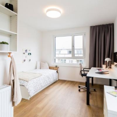 Voll möbliertes Studentenzimmer ab 399€ / Monat - thumb