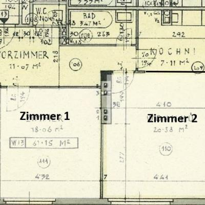 Helle WG-Wohnung - 2 Studenten - keine Provision - thumb