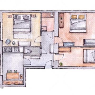 WG Zimmer 18 m2 in liebevoll sanierter Wohnung - thumb