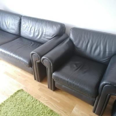 Sofa und Sessel (Leder) - thumb