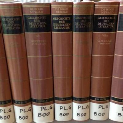 De Boor Newald Geschichte der deutschen Literatur - thumb