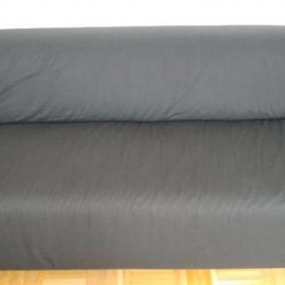 KLIPPAN Sofa (Ikea) schwarz - thumb