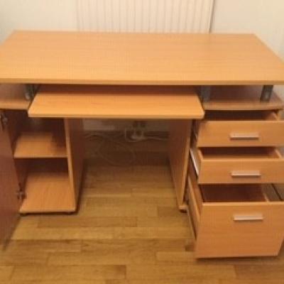 Schreibtisch Buche Dekor - thumb