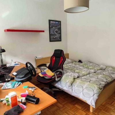 Helles Zimmer mit eignem Balkon in ruhiger 3er WG - thumb