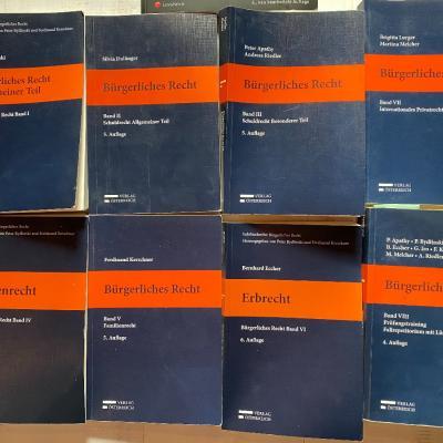 Bürgerliches Recht Band 1-8 (inkl. casebook) - thumb
