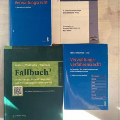 Verwaltungsrecht Bücher - thumb