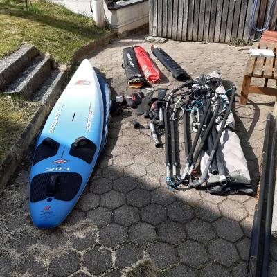 Verkaufe Windsurf Equipment - thumb