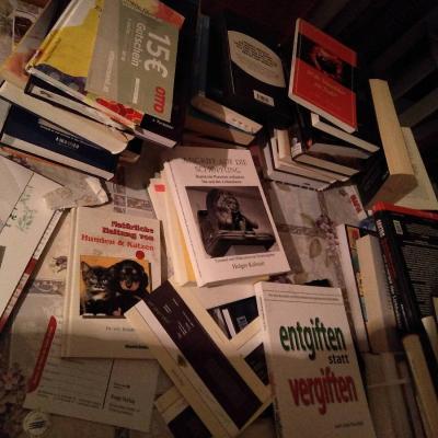 1 Zimmer voll Bücher - thumb