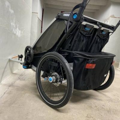 Thule Chariot Sport 2 Black Edition Zweisitzer Kinderanhänger - thumb
