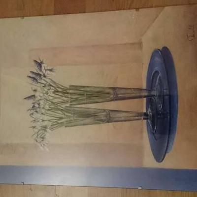"""Ludger Thuilot Deco I Poster Art Print """"Spring"""" - thumb"""