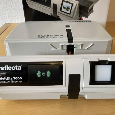 Reflecta DigitDia 7000 Diascanner Top-Zustand - thumb