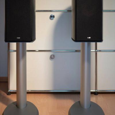 B&W Nautilus 805 mit Ständer High-End Lautsprecher - thumb