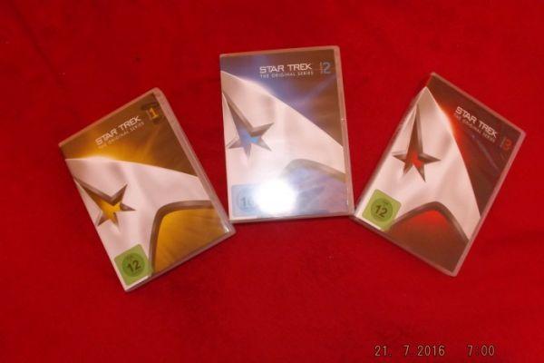 Star Trek The Original Series 1 - 2 - 3 TOS Raumsc