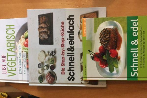 Kochbücher Vegetarisch und schnelle Küche
